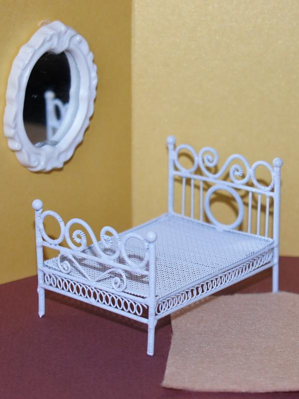 Металлическая кроватка для куклы своими руками 84